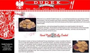 Dropchuk.com's Dudek Foods